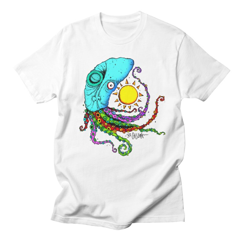 Jimmy The Squid Men's T-Shirt by Bad Otis Link's Artist Shop