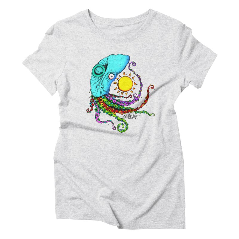 Jimmy The Squid Women's T-Shirt by Bad Otis Link's Artist Shop