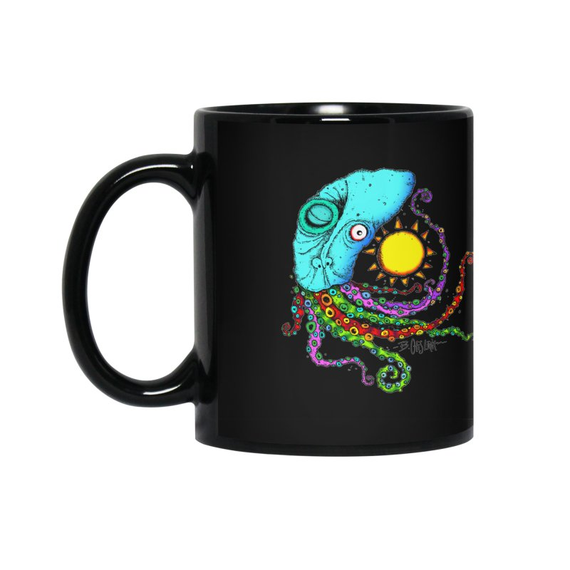 Jimmy The Squid Accessories Mug by Bad Otis Link's Artist Shop