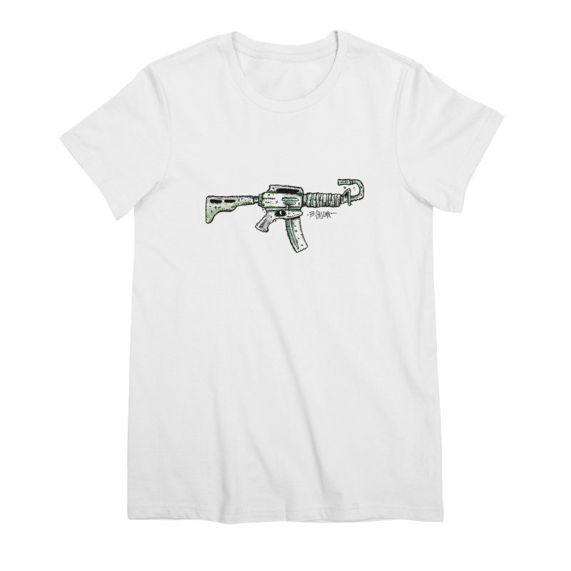 Problem Solved Women's Premium T-Shirt by Bad Otis Link's Artist Shop