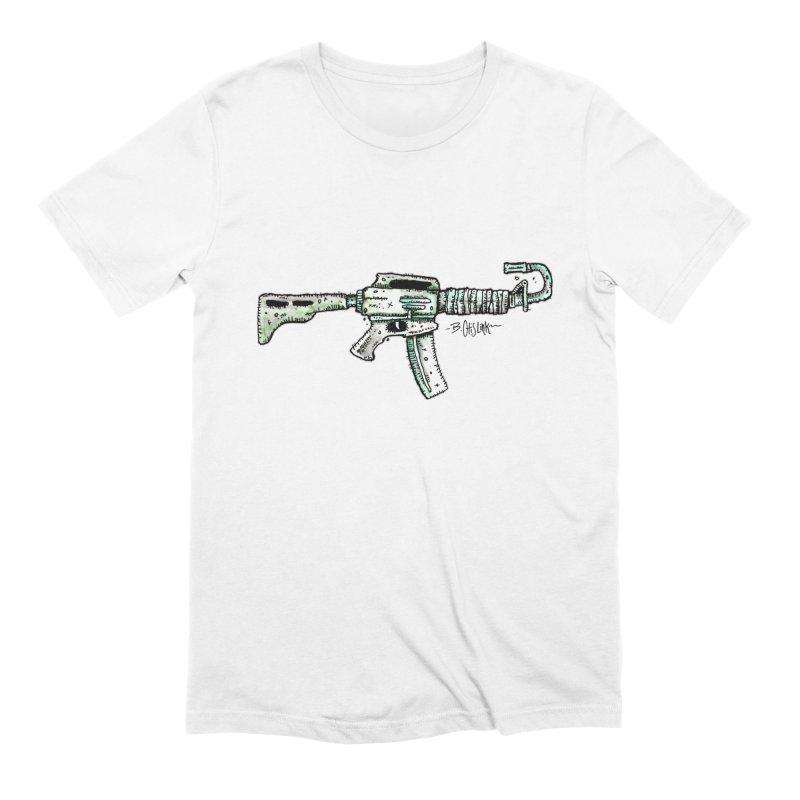 Problem Solved Men's Extra Soft T-Shirt by Bad Otis Link's Artist Shop