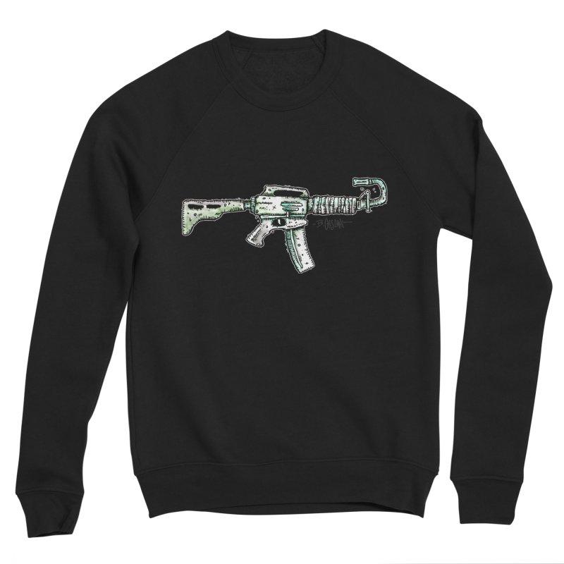 Problem Solved Men's Sweatshirt by Bad Otis Link's Artist Shop