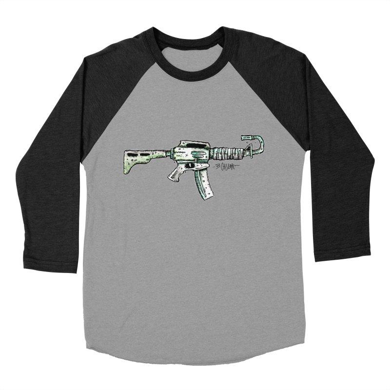 Problem Solved Men's Baseball Triblend Longsleeve T-Shirt by Bad Otis Link's Artist Shop