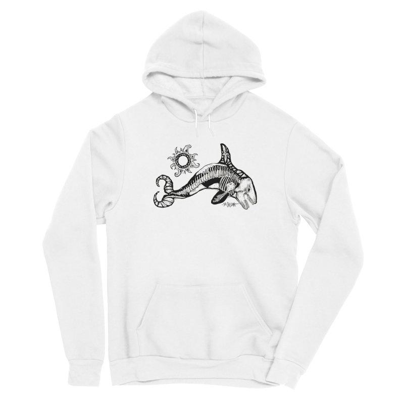 Ghost Orca Men's Pullover Hoody by Bad Otis Link's Artist Shop