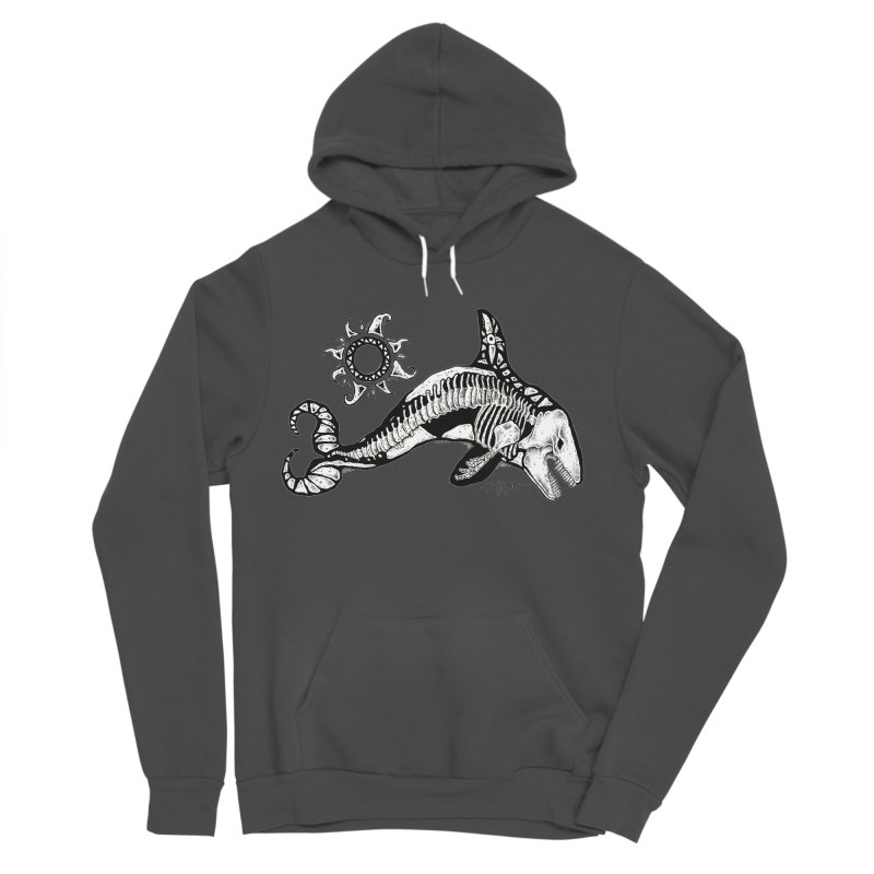 Ghost Orca Men's Sponge Fleece Pullover Hoody by Bad Otis Link's Artist Shop