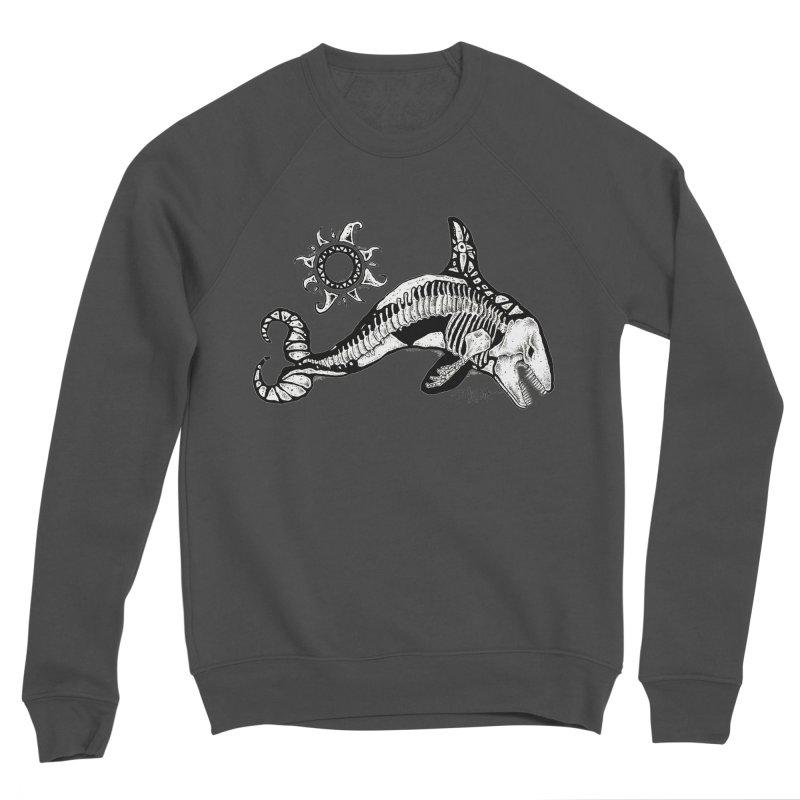 Ghost Orca Women's Sponge Fleece Sweatshirt by Bad Otis Link's Artist Shop