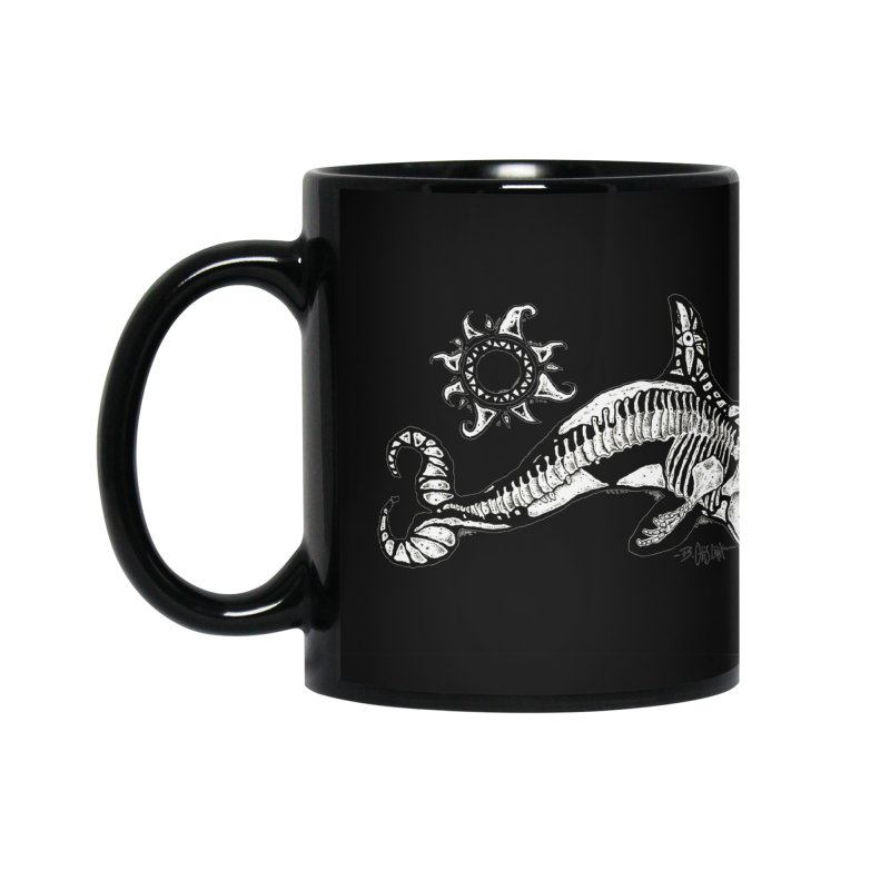Ghost Orca Accessories Mug by Bad Otis Link's Artist Shop