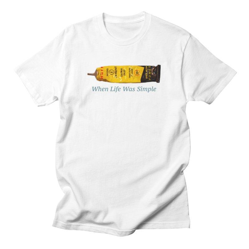 When All Else Fails... Huff. Men's T-Shirt by Bad Otis Link's Artist Shop