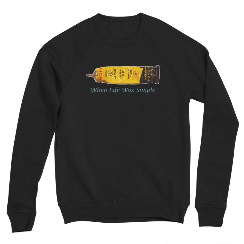 When All Else Fails... Huff. Men's Sweatshirt by Bad Otis Link's Artist Shop
