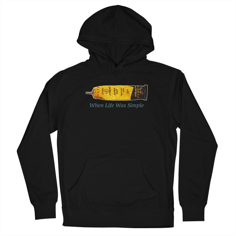 When All Else Fails... Huff. Women's French Terry Pullover Hoody by Bad Otis Link's Artist Shop