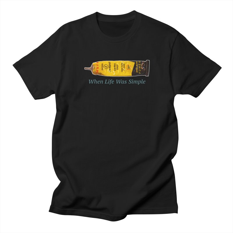 When All Else Fails... Huff. Men's Regular T-Shirt by Bad Otis Link's Artist Shop