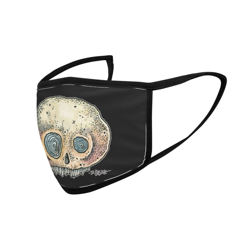 Skull Series 1 Accessories Face Mask by Bad Otis Link's Artist Shop