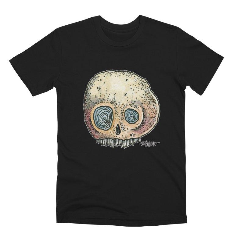 Skull Series 1 Men's T-Shirt by Bad Otis Link's Artist Shop