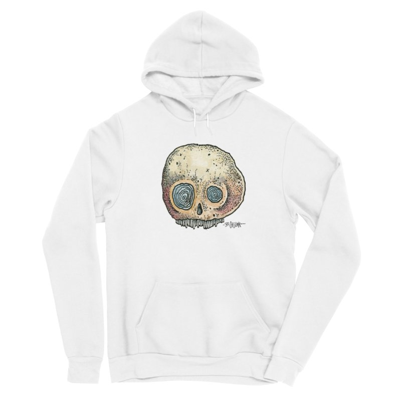 Skull Series 1 Men's Pullover Hoody by Bad Otis Link's Artist Shop
