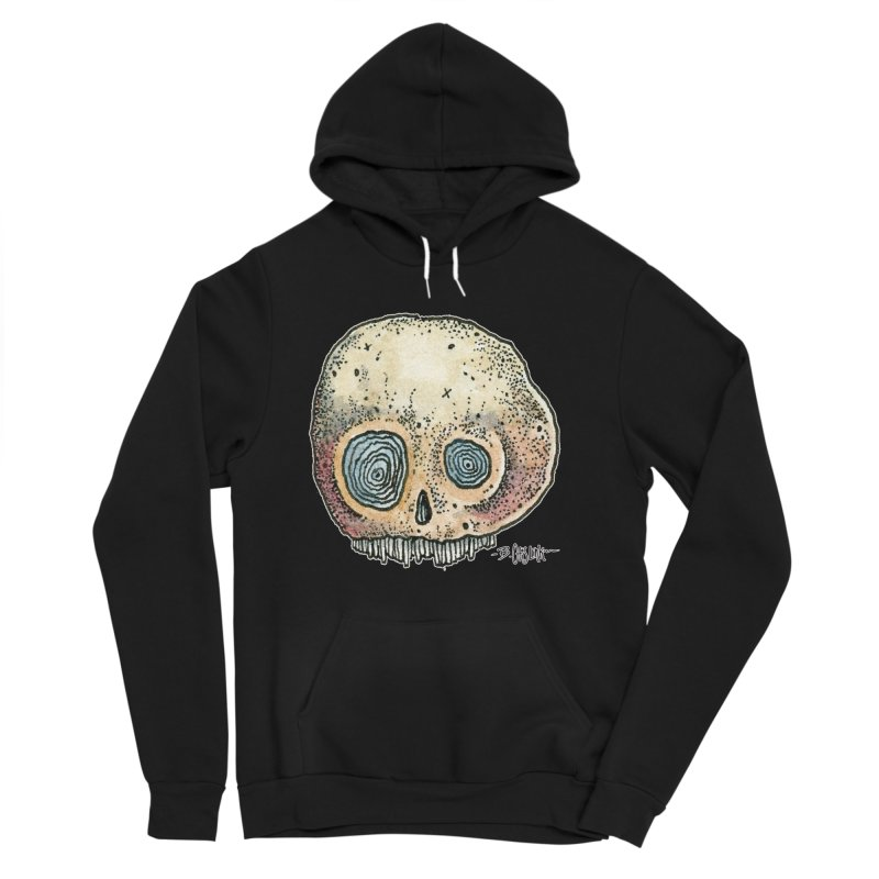 Skull Series 1 Men's Sponge Fleece Pullover Hoody by Bad Otis Link's Artist Shop