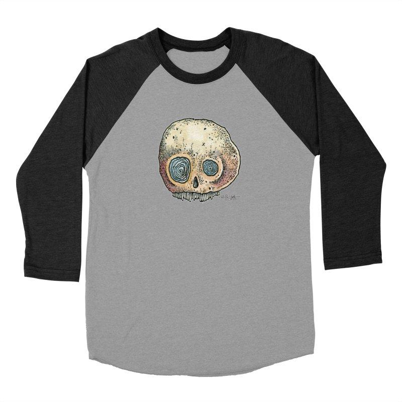Skull Series 1 Women's Longsleeve T-Shirt by Bad Otis Link's Artist Shop