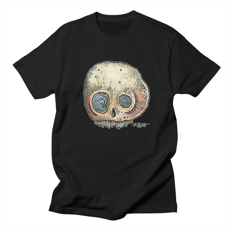 Skull Series 1 Women's Regular Unisex T-Shirt by Bad Otis Link's Artist Shop