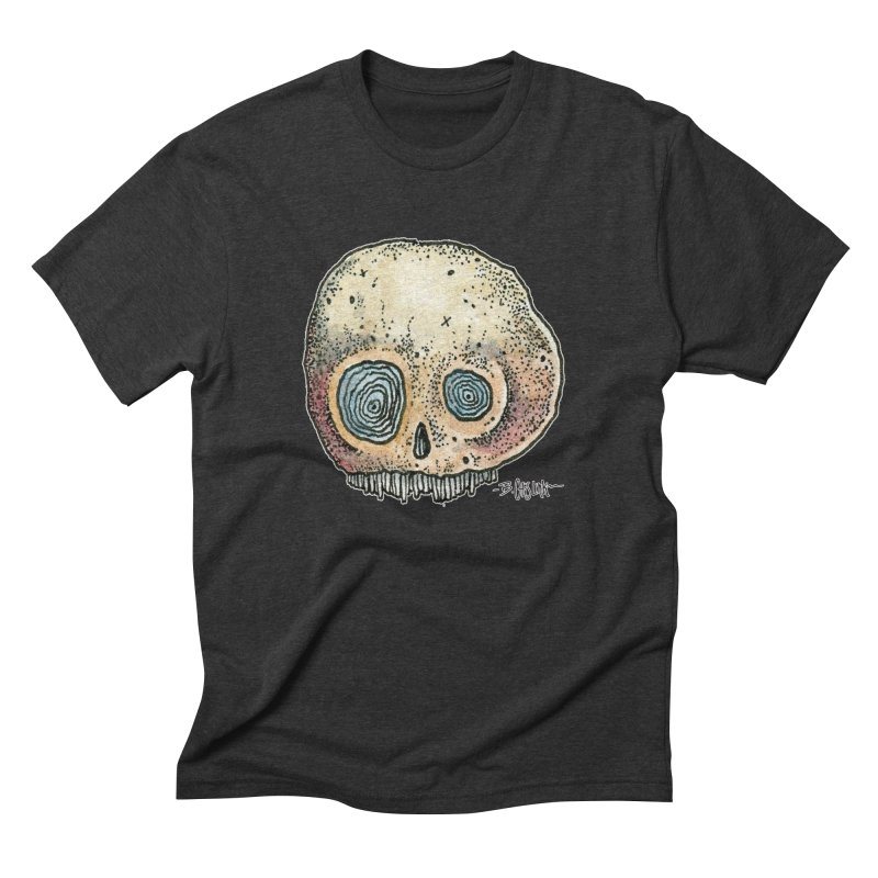 Skull Series 1 Men's T-Shirt by Bad Otis Link's Artist Shop