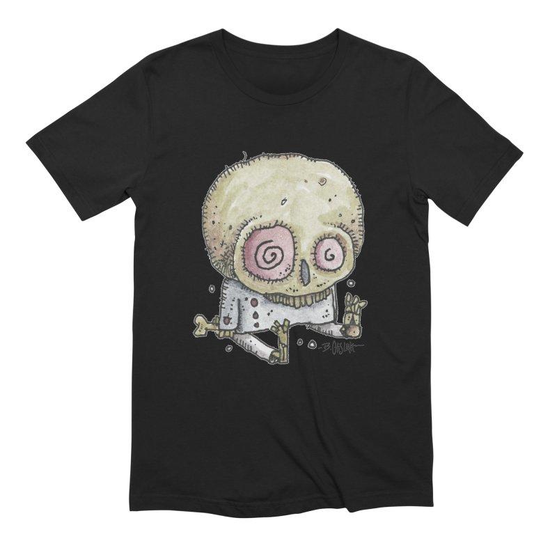 Skull Series 2 Men's Extra Soft T-Shirt by Bad Otis Link's Artist Shop