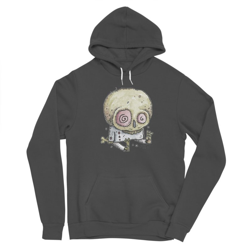 Skull Series 2 Women's Sponge Fleece Pullover Hoody by Bad Otis Link's Artist Shop