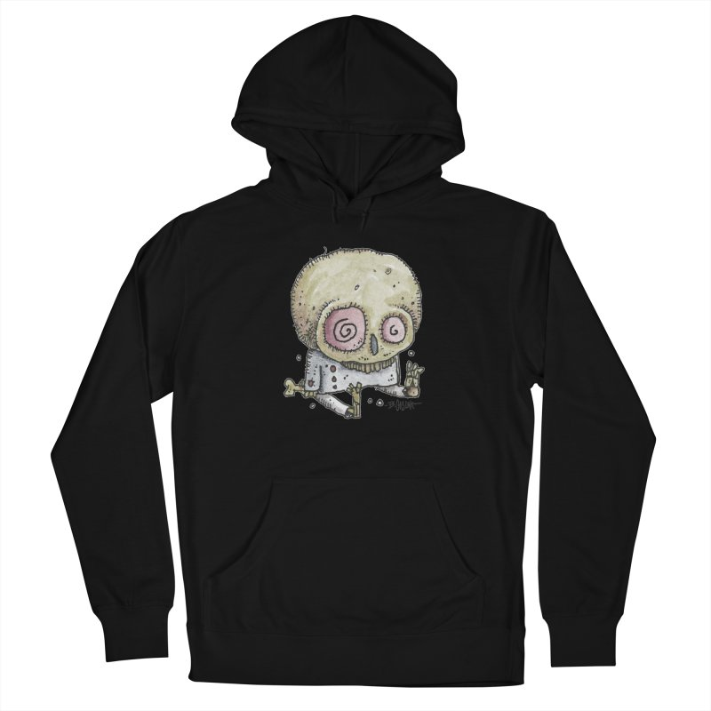 Skull Series 2 Women's French Terry Pullover Hoody by Bad Otis Link's Artist Shop