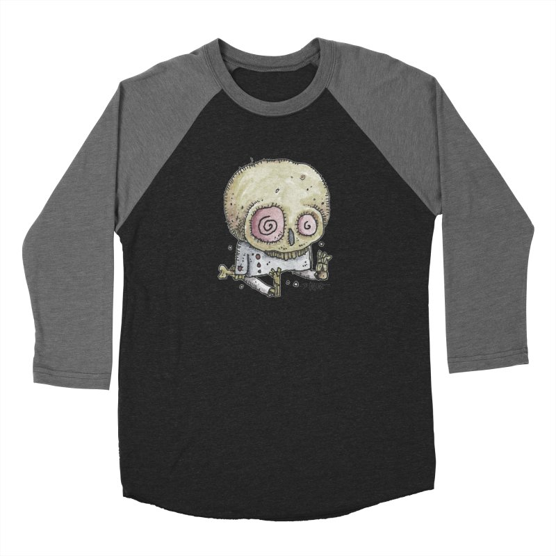 Skull Series 2 Women's Longsleeve T-Shirt by Bad Otis Link's Artist Shop