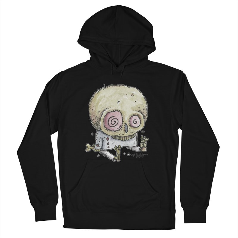Skull Series 2 Men's French Terry Pullover Hoody by Bad Otis Link's Artist Shop