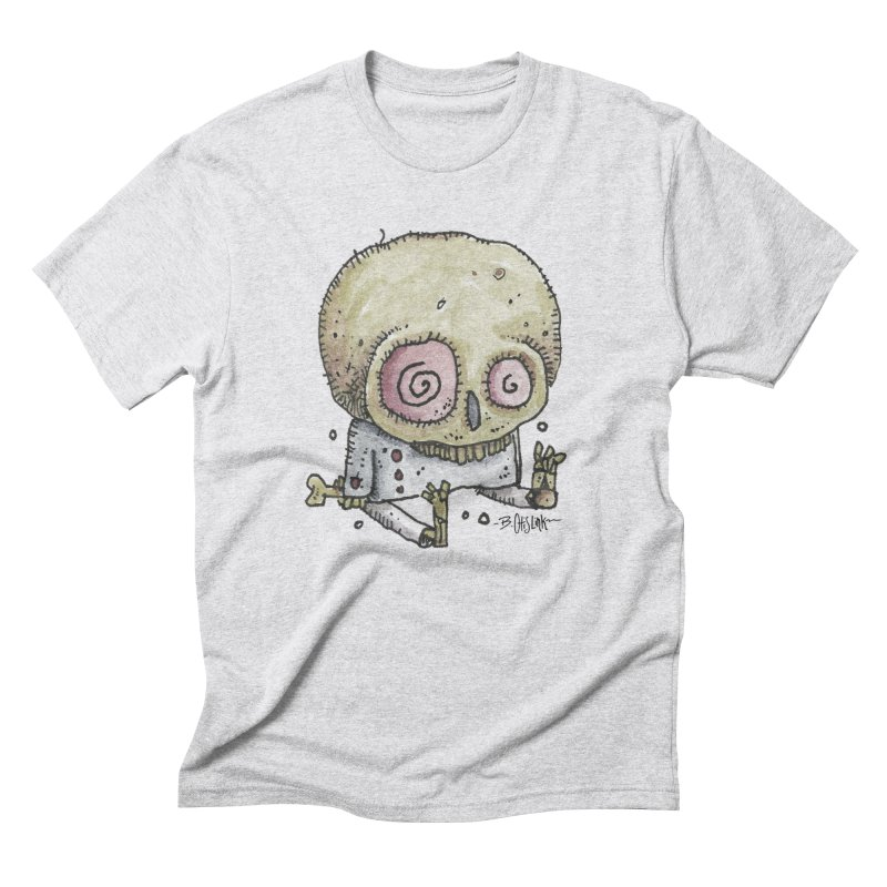 Skull Series 2 Men's T-Shirt by Bad Otis Link's Artist Shop