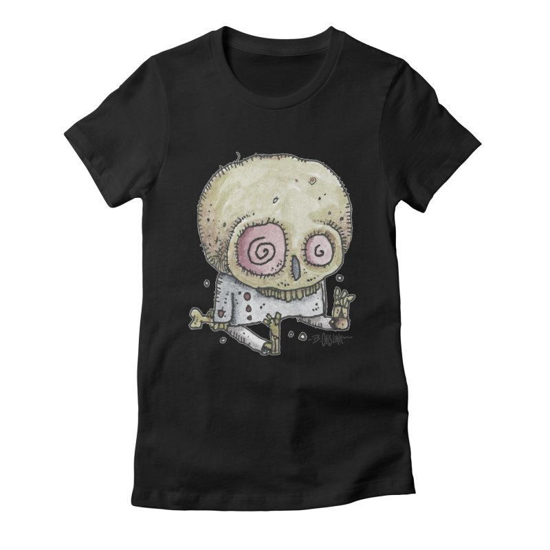 Skull Series 2 Women's T-Shirt by Bad Otis Link's Artist Shop