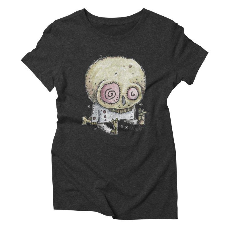 Skull Series 2 Women's T-Shirt by Bad Otis Link's Artist Shop