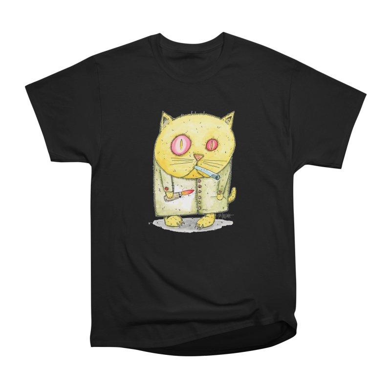 Crack Kitty Men's T-Shirt by Bad Otis Link's Artist Shop