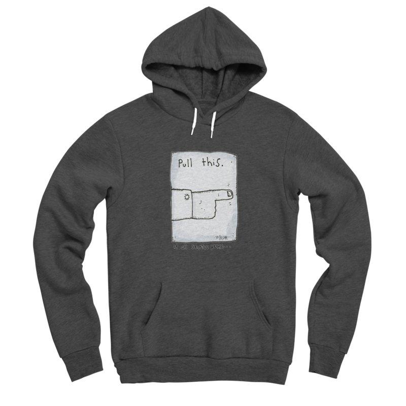 The Origin Of Comedy Men's Pullover Hoody by Bad Otis Link's Artist Shop