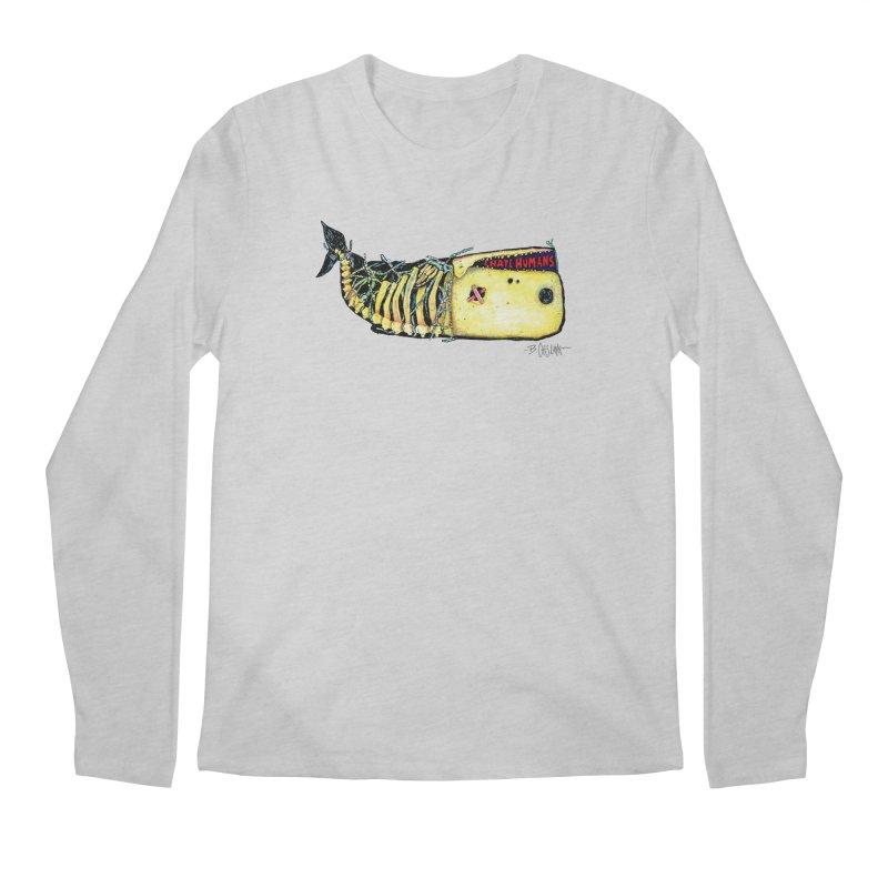 I Hate Humans - Whale Men's Regular Longsleeve T-Shirt by Bad Otis Link's Artist Shop