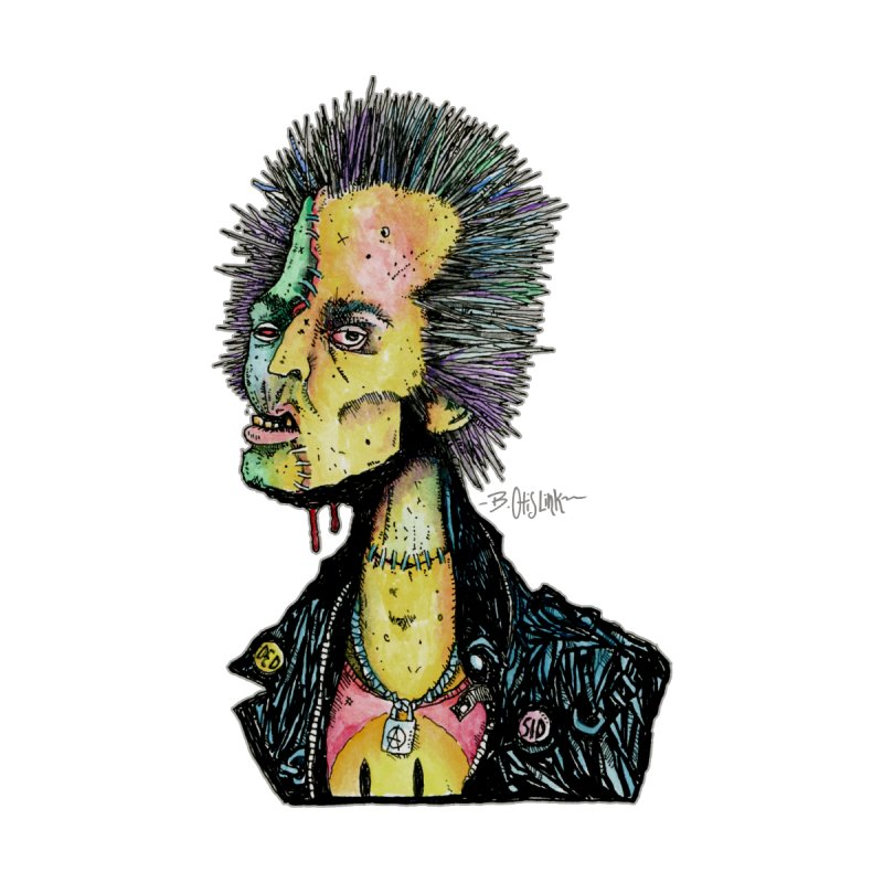 DED SID Kids T-Shirt by Bad Otis Link's Artist Shop