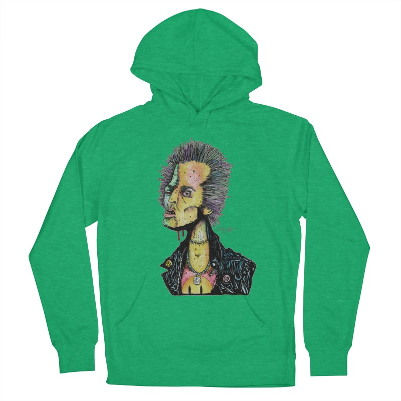 DED SID Men's French Terry Pullover Hoody by Bad Otis Link's Artist Shop