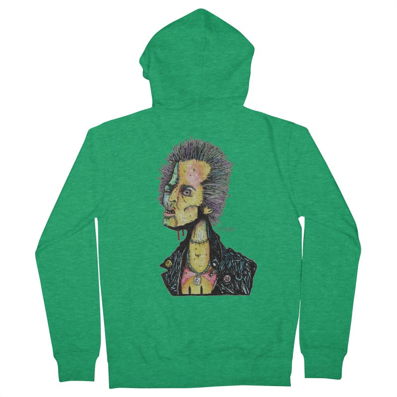 DED SID Men's Zip-Up Hoody by Bad Otis Link's Artist Shop