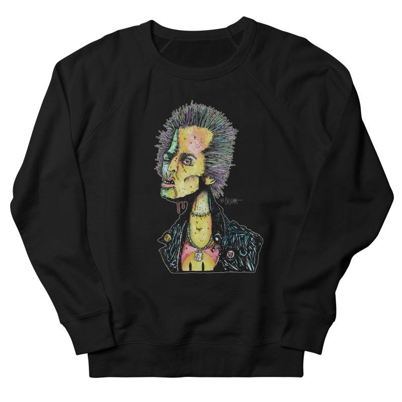 DED SID Women's French Terry Sweatshirt by Bad Otis Link's Artist Shop