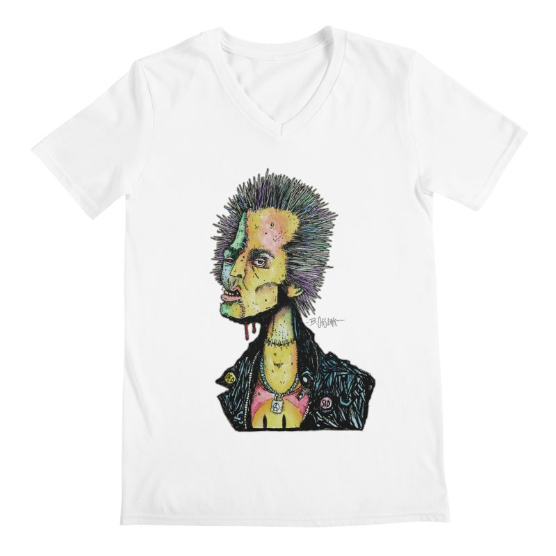 DED SID Men's V-Neck by Bad Otis Link's Artist Shop