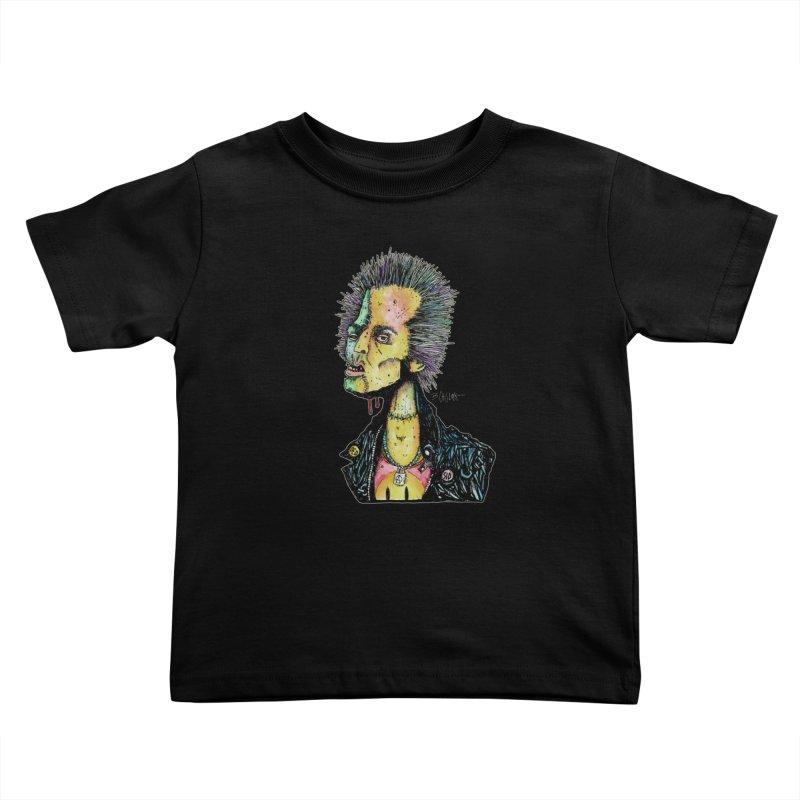 DED SID Kids Toddler T-Shirt by Bad Otis Link's Artist Shop