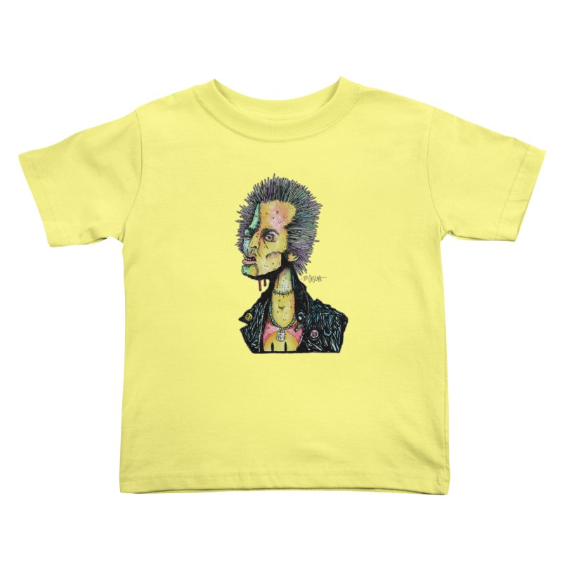 DED SID Kids Toddler T-Shirt by Bad Otis Link's Artist Shop
