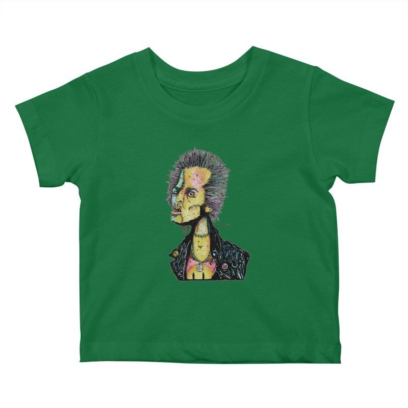 DED SID Kids Baby T-Shirt by Bad Otis Link's Artist Shop