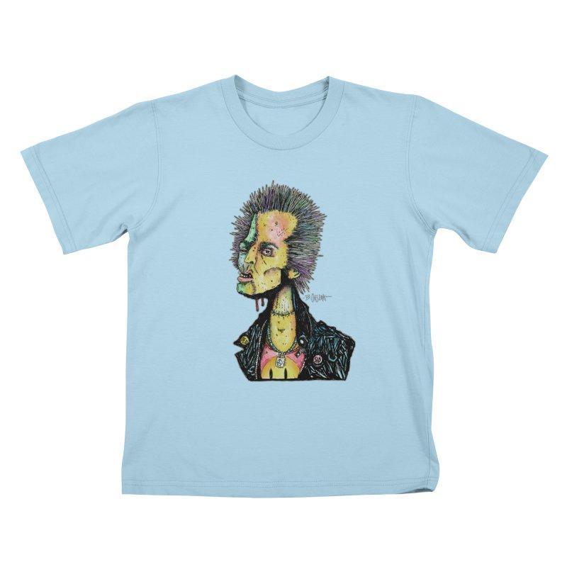 DED SID Kids T-Shirt by Bad Otis Link's Artist Shop