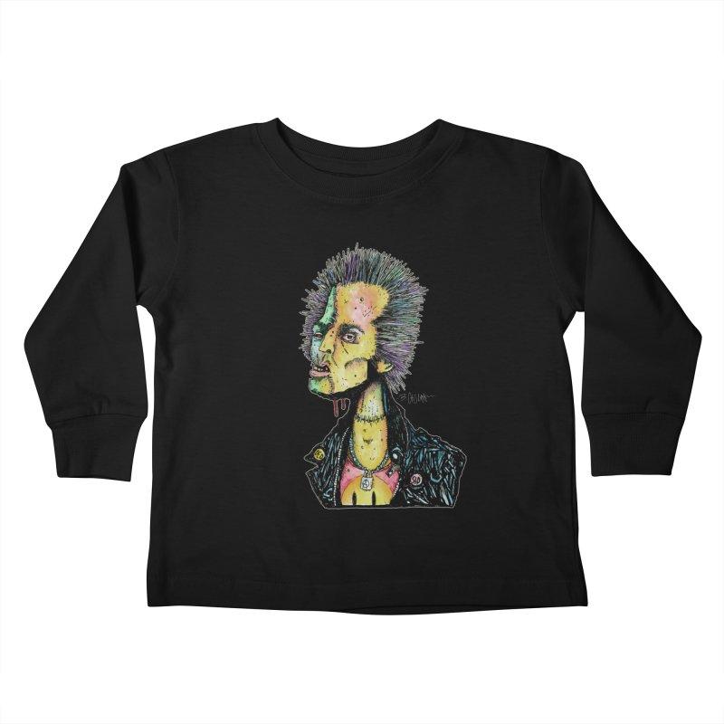 DED SID Kids Toddler Longsleeve T-Shirt by Bad Otis Link's Artist Shop