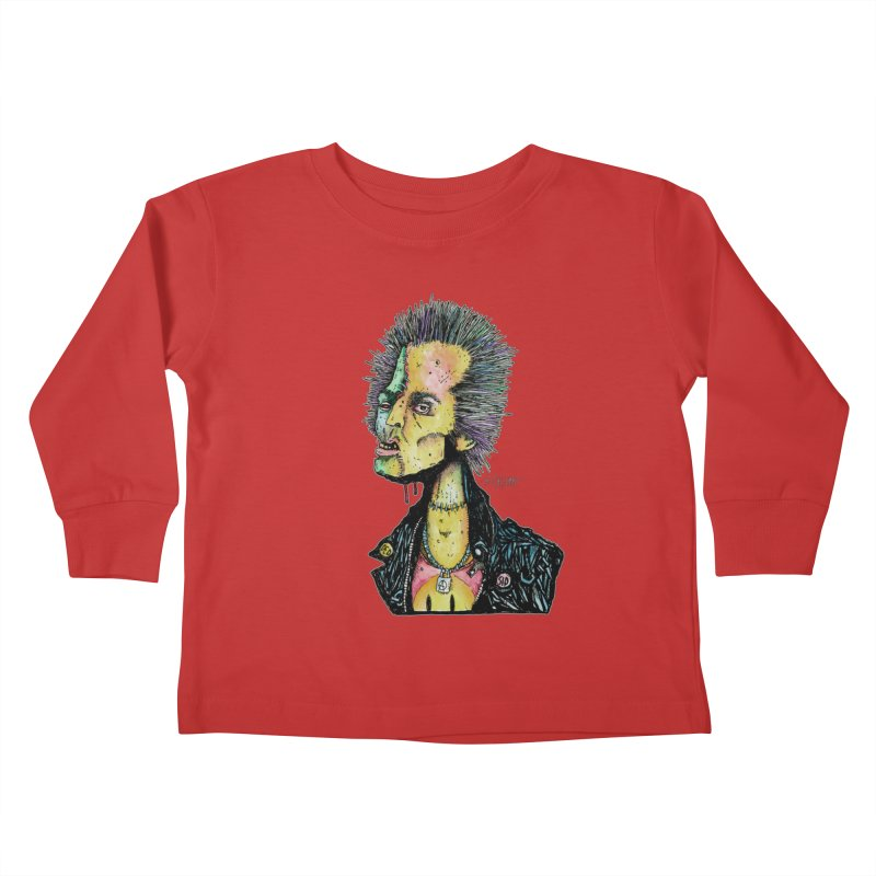 DED SID Kids Toddler Longsleeve T-Shirt by Bad Otis Link's Artist Shop