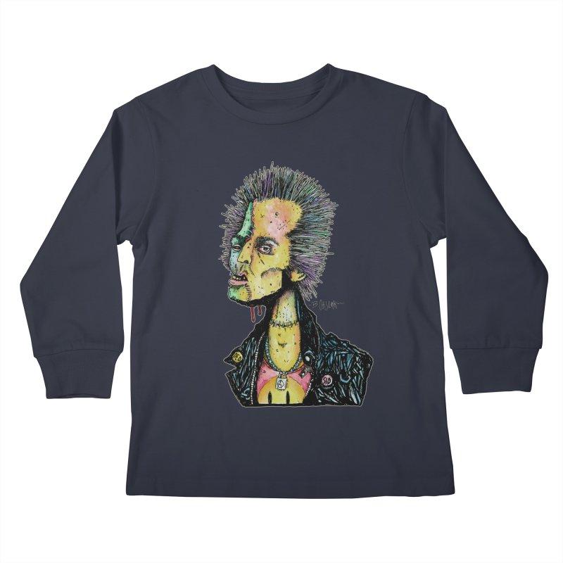 DED SID Kids Longsleeve T-Shirt by Bad Otis Link's Artist Shop