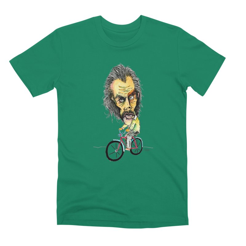Nicks Wild Ride Men's T-Shirt by Bad Otis Link's Artist Shop