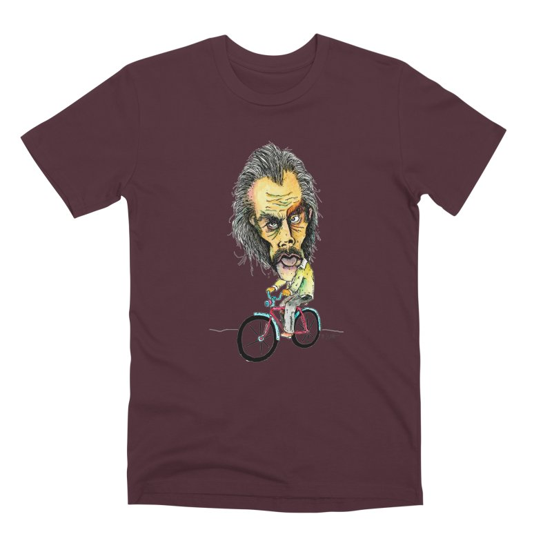 Nicks Wild Ride Men's T-Shirt by Bad Otis Link's Artist Shop