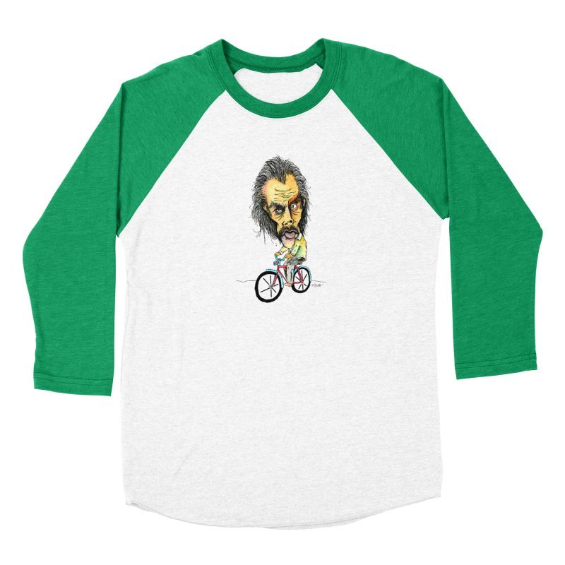 Nicks Wild Ride Women's Longsleeve T-Shirt by Bad Otis Link's Artist Shop