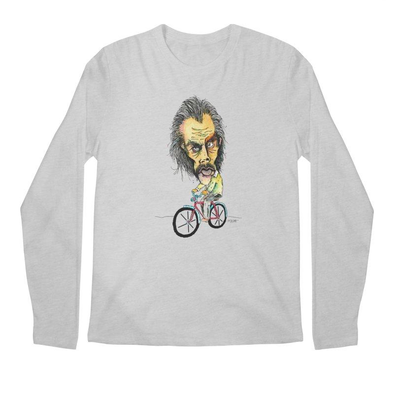 Nicks Wild Ride Men's Longsleeve T-Shirt by Bad Otis Link's Artist Shop