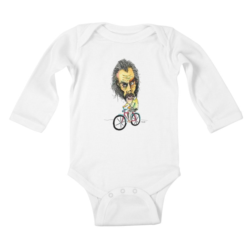 Nicks Wild Ride Kids Baby Longsleeve Bodysuit by Bad Otis Link's Artist Shop